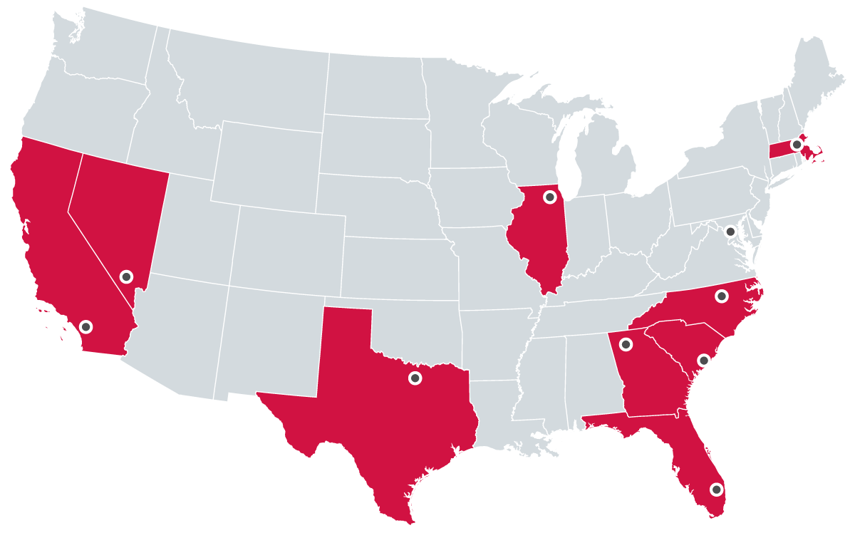 American Tower U.S. Office Locations
