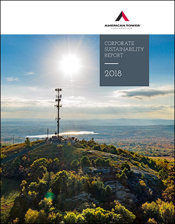 2018 American Tower Sustainability Report