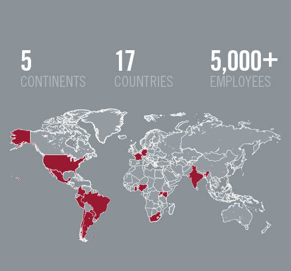 Our Global Site Presence